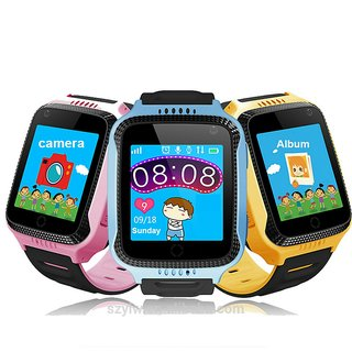Global Trak Smart Watch specially designed for kids - India's smartest wearable GPS tracker watch activity tracker wit