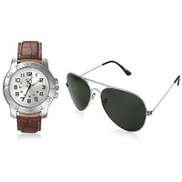 RICO SORDI Mens Silver Leather Watch