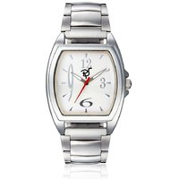 Rico Sordi Square Dial Multicolor Metal Strap Quartz Watch For Men