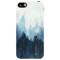 Snoogg  Himalaya Vision Case Cover For Apple Iphone 5C