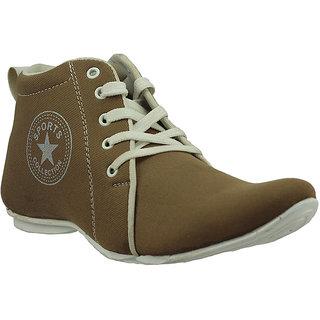 Foot Gear 24 Texture Tan Men Casual Shoes