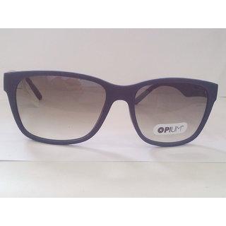 Opium Square Matte Blue Frame Sunglasses (OPIUM OP 1279 C3 57)