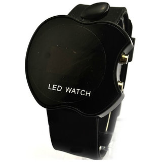 Apple Shape Watch LED For Men And Women