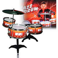7 Pcs Drum Set Musical Band Instrument Playset Gift Kids Toys Toy Gift -83