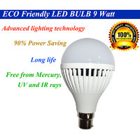 LED Bulb 9 Watt - Set Of 10 Bulbs