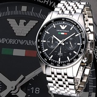 Authentic Emporio Armani AR-5983, Men's Chronograph Tazio ITALIA Watch
