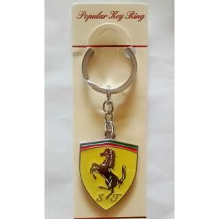 MPORTED FERRARI METAL KEYCHAIN - KEYRING - KEY CHAIN - FOR CAR AND BIKE