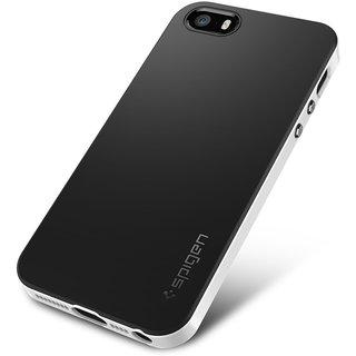 Hybird Spigen Neo Frame For Apple iPhone 5/ 5s - White