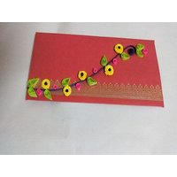 Beautiful Handmade Paper Cards Set Of Five