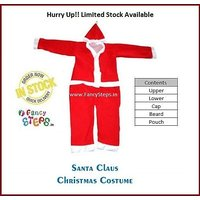 Fair Price Christmas  Party Wear Santa Claus Costume