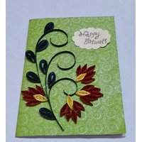 Handmade Quilled Diwali Greeting Cards