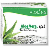 VIOLINA Aloe Vera Skin Gel For Skin Softening - 125 Gm