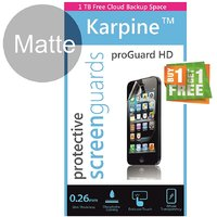 Karpine MicromaxCanvas JuiceA77 Screen Guard Matte