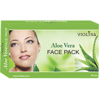 VIOLINA	Aloe Vera Face Pack For Wrinkle Free & Natural Skin - 100gms