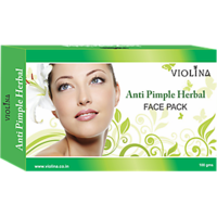 VIOLINAAnti Pimple Herbal Facepack For Natural And  Healthy Skin - 100gms