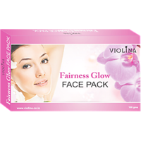 VIOLINA	Fairness Glow Face Pack For Natural Fairness Glow - 100gms
