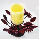 LED Candle Set Candle Stand Candle Holder Home Decor Light