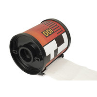 Think Funky Tissue Paper Holder Film Roll Case Shape (Yellow Colour)
