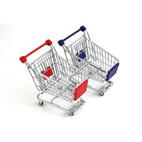 Think Funky Shopping Cart Multi Purpose Holder (Red)