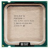 INTEL DUAL CORE PENTIUM D 3.0 Ghz Processor 925 4M Cache, 3.00 GHz, 800 MHz FSB 1Year Warranty