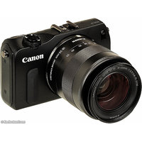 Canon EOS-M Mirrorless Camera Black, Body With 18-55 Mm Lens