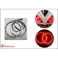 FloMaster- LED Angel Eye For Bike/Scooter - Red (Fits To All)