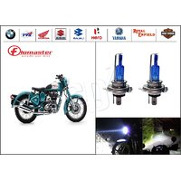 FloMaster-Royal Enfield BULLET Bike Headlight Bulbs CYT-White