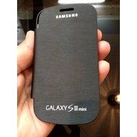 GENUINE Samsung Galaxy S3 Mini Cover Flip Cover Case Black