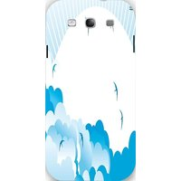 Snoogg Awesome Bright Birdy 2462 Case Cover For Samsung Galaxy S3