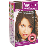 Vegetal Natural Hair Colour- Dark Brown (120 g)