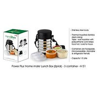 Power Plus 'Home Mate' Lunch Box – 3 Container