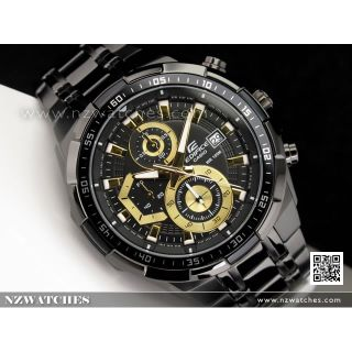 Casio Edifice Stopwatch Chronograph Multi-Colour Dial Men's Watch - EFR-539BK-1A