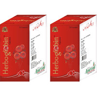 Herboglobin Capsules Herbal Iron Supplement For Iron Deficiency 200 Pills