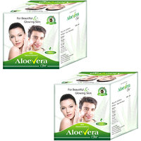 Aloe Vera Gel Herbal Natural Skin Moisturizer For Men And Women 4 Packs