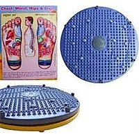 4 In 1 Acupressure Magnetic Pyramid Twister Foot Mat Round And Power-foot-mat