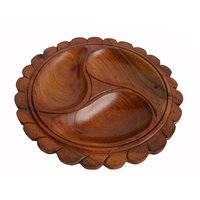 Shoppingtara Wooden Hand Made Carved Try