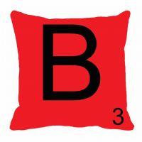 MeSleep Alphabet B Cushion Cover(16 X 16)
