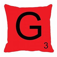MeSleep Alphabet G Cushion Cover(16 X 16)