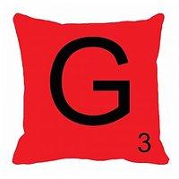 MeSleep Alphabet G Cushion Cover(16 X 16)