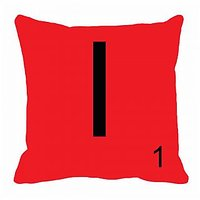 MeSleep Alphabet I Cushion Cover(16 X 16)