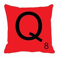 MeSleep Alphabet Q Cushion Cover(16 X 16)