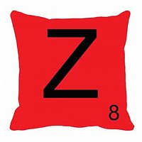 MeSleep Alphabet Z Cushion Cover(16 X 16)