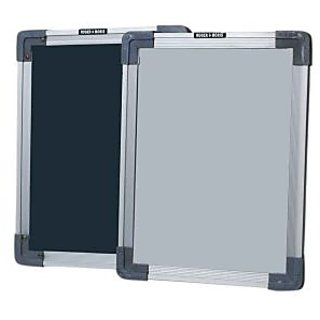 Roger  Moris Double Sided White  Chalk Board Slate (9 X 12 Inches approx)