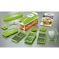 Nicer Dicer Plus Multi Chopper Vegetable Cutter Fruit Slicer Peeler - 5667922