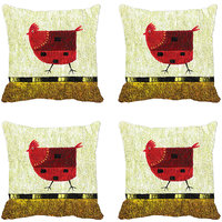 One Chick Digitally Printed Cushion Cover (12x12)