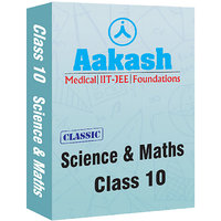 Aakash IConnect Classic Package For Class 10 (Science & Maths)