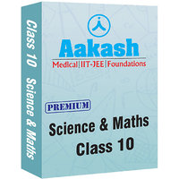 Aakash IConnect Premium Package For Class 10 (Science & Maths)
