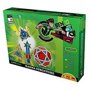 Toyzone Ben 10 Magna Structure, Multi Color (220 Pieces)