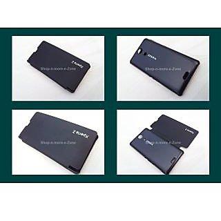 SONY XPERIA ZR M3LH /C5502/C5503/ LTE/ZR HSPA Flip Diary Case Cover -BLACK