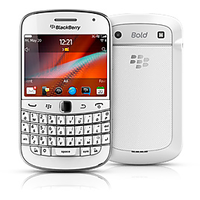 Blackberry Bold 4 9900 Mobile Phone (White)